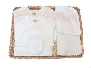 Round and Round Baby Gift Basket by Mulberry Organics